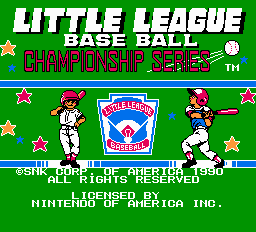 Little League Baseball - Championship Series