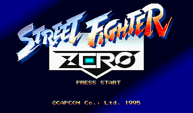 Street Fighter Zero (CPS Changer)