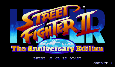 Hyper Street Fighter 2: The Anniversary Edition (Asia 040202)
