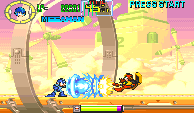 Mega Man: The Power Battle (CPS2, USA 951006, SAMPLE Version)