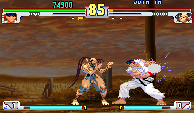 Street Fighter III 3rd Strike: Fight for the Future (USA, 990512)