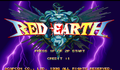 Warzard / Red Earth (Japan, 961121)