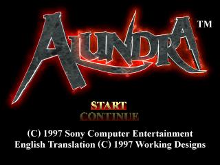 Alundra (U)