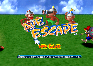 Ape Escape (Demo) (E)