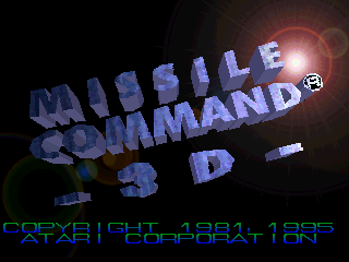 Missile Command 3D (1995)