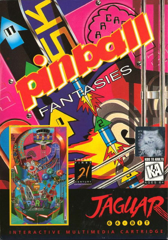Pinball Fantasies (1995) (Computer West)