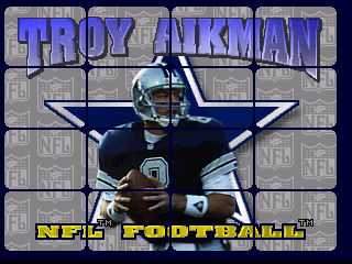 Troy Aikman NFL Football (1995) (Williams)