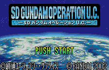 SD Gundam - Operation U.C.