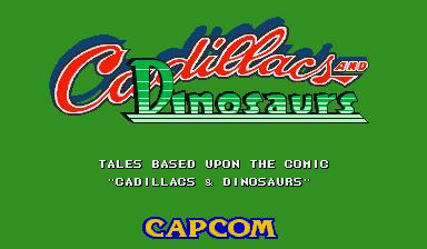 Cadillacs and Dinosaurs (World 930201)