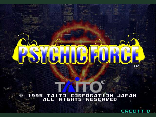 Psychic Force (Ver 2.4O)