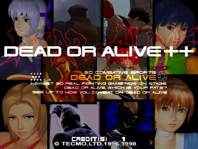 Dead or Alive ++ (JAPAN)