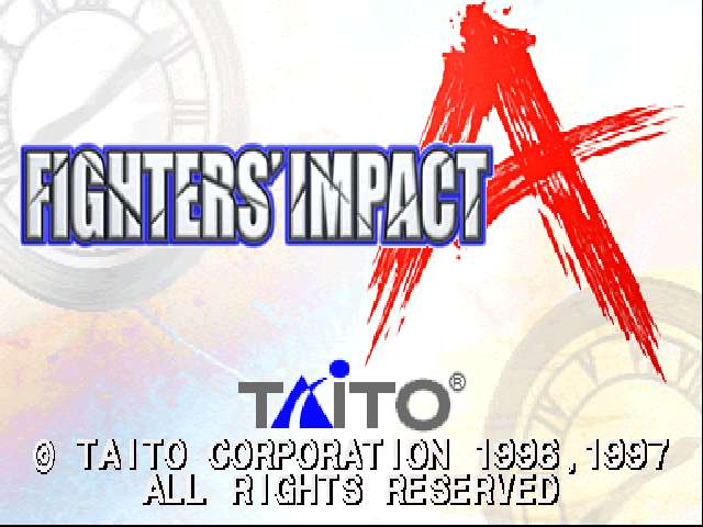 Fighters' Impact A (Ver 2.00J)