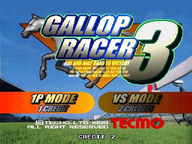 Gallop Racer 3 (JAPAN)