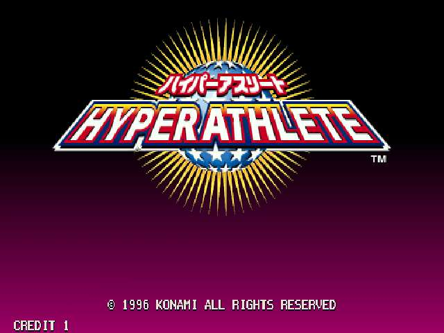 Hyper Athlete (GV021 JAPAN 1.00)