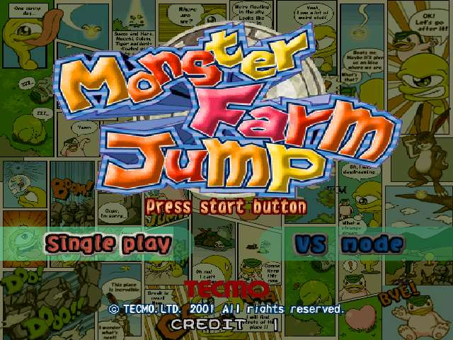 Monster Farm Jump (JAPAN)