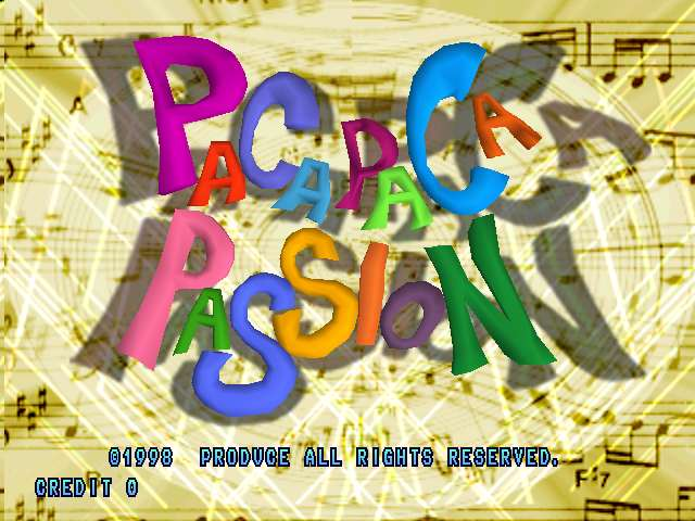 Paca Paca Passion (PPP1/VER.A2)