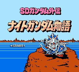 SD Gundam Gaiden - Knight Gundam Monogatari