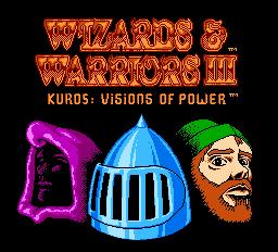 Wizards & Warriors III - Kuros - Visions of Power