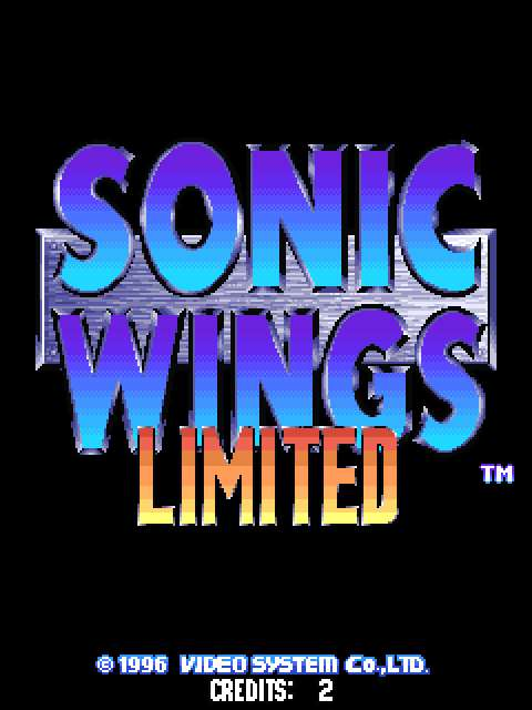 Sonic Wings Limited (JAPAN)