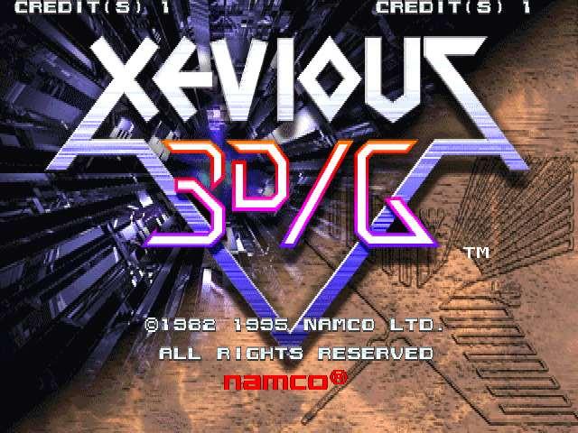 Xevious 3D/G (XV31/VER.A)