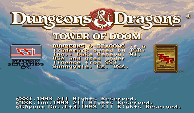 Dungeons & Dragons: Tower of Doom (Euro 940412)
