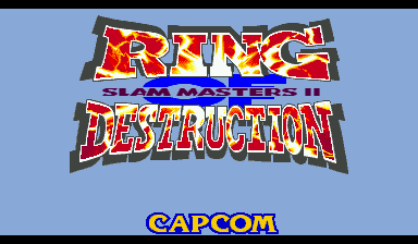 Ring of Destruction: Slammasters II (Euro 940902)