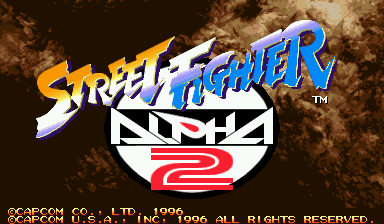 Street Fighter Alpha 2 (Euro 960229)