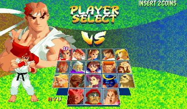 Street Fighter Alpha 2 (Euro 960229)