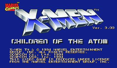 X-Men: Children of the Atom (Euro 950105)