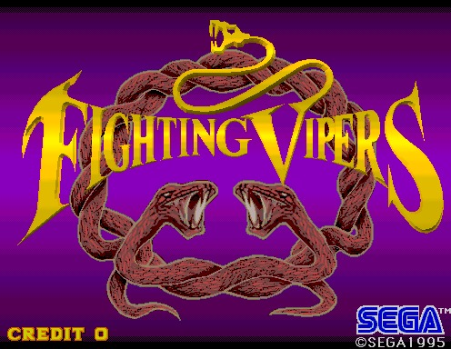 Fighting Vipers [Model 2B CRX]