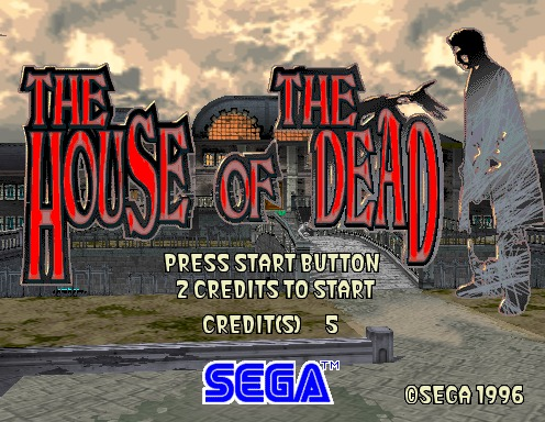 House Of The Dead, The [Model 2C CRX]