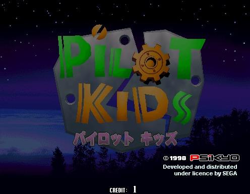 Pilot Kids [Model 2A CRX]