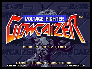 Voltage Fighter: Gowcaizer / Choujin Gakuen Gowcaizer