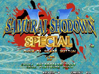 Samurai Shodown V Special / Samurai Spirits Zero Special (Set 1, Uncensored)