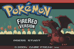 Pokemon - Fire Red Version